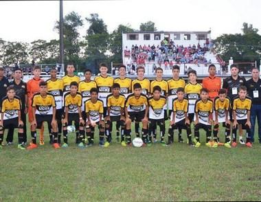 O time Sub-13 do tigre encerra participação no Efipan