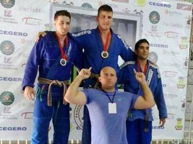 O atleta Toféu é tetracampeão catarinense de Jiu-Jitsu