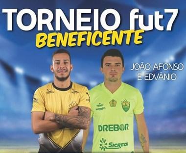 João Afonso e Edvânio promovem torneio beneficente