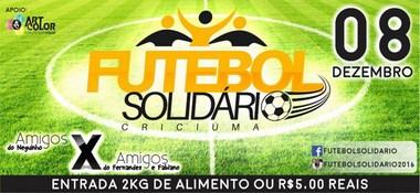 Quinta edição do Futebol Solidário com homenagens