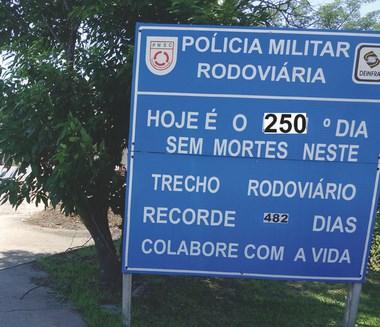 Polícia Militar Rodoviária pede atenção redobrada