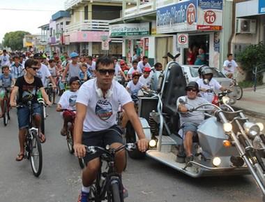 Passeio Ciclístico é mais uma atração em Balneário Rincão