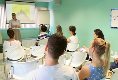Aula de Apresentação realizada na sede da Nova Acrópole