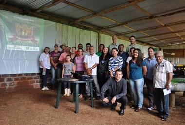 Empresa rural da área do leite é modelo nacional