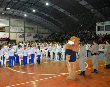 Proerd irá formar 100% dos estudantes do 7º ano em Siderópolis