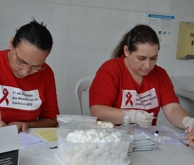 Saúde de Cocal realiza ação no dia Mundial contra a AIDS
