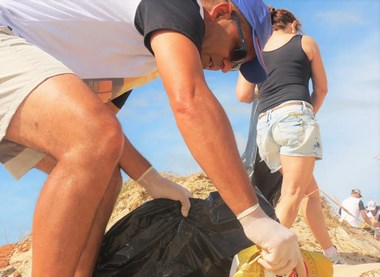 Mutirão de Limpeza recolhe duas toneladas de lixo