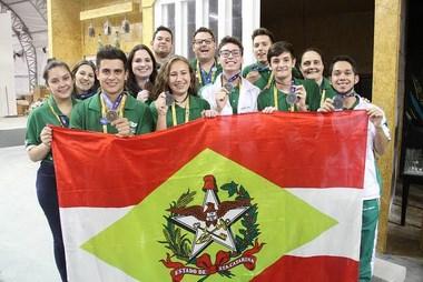 Senai Criciúma conquista medalha de prata