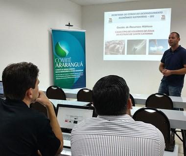 Treinamento capacita técnicos do sul catarinense