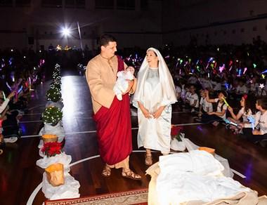 Colégio Marista Criciúma realiza Auto de Natal