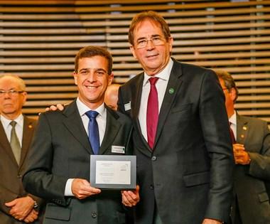 Sinduscon/Oeste recebe prêmio em categoria de defesa setorial