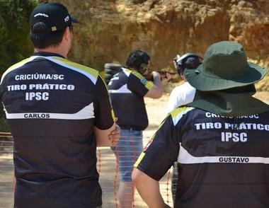 Tiro Prático - Tetracampeão sul-americano em Criciúma