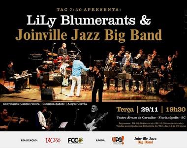 Lily Blumerants & Joinville Jazz Big Band em Florianópolis