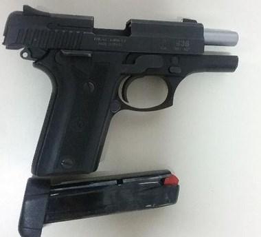 PM prende homem por porte ilegal de arma de fogo