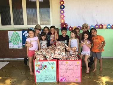 PM Araranguá realiza arrecadação de brinquedos