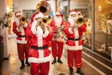 Papai Noel chega neste domingo no Atlântico Shopping