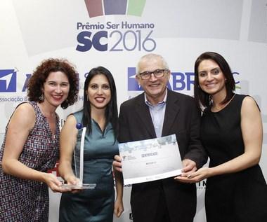 Multilog conquistou o Prêmio Ser Humano 2016