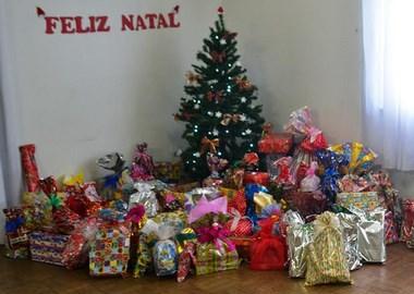 Natal Criança Feliz garante presentes e diversão à crianças