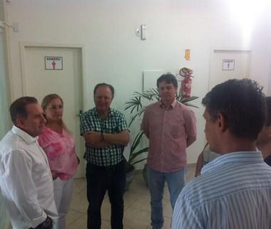 Secretário Valmir Comin visita unidades do SINE na região Sul