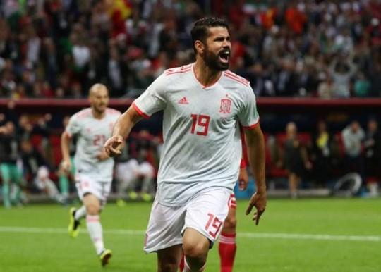 Espanha derrota Irã por 1 x 0 com gol de Diego Costa