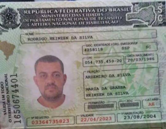 Motorista de Tubarão sofre acidente em Rondônia e o estado de saúde é grave